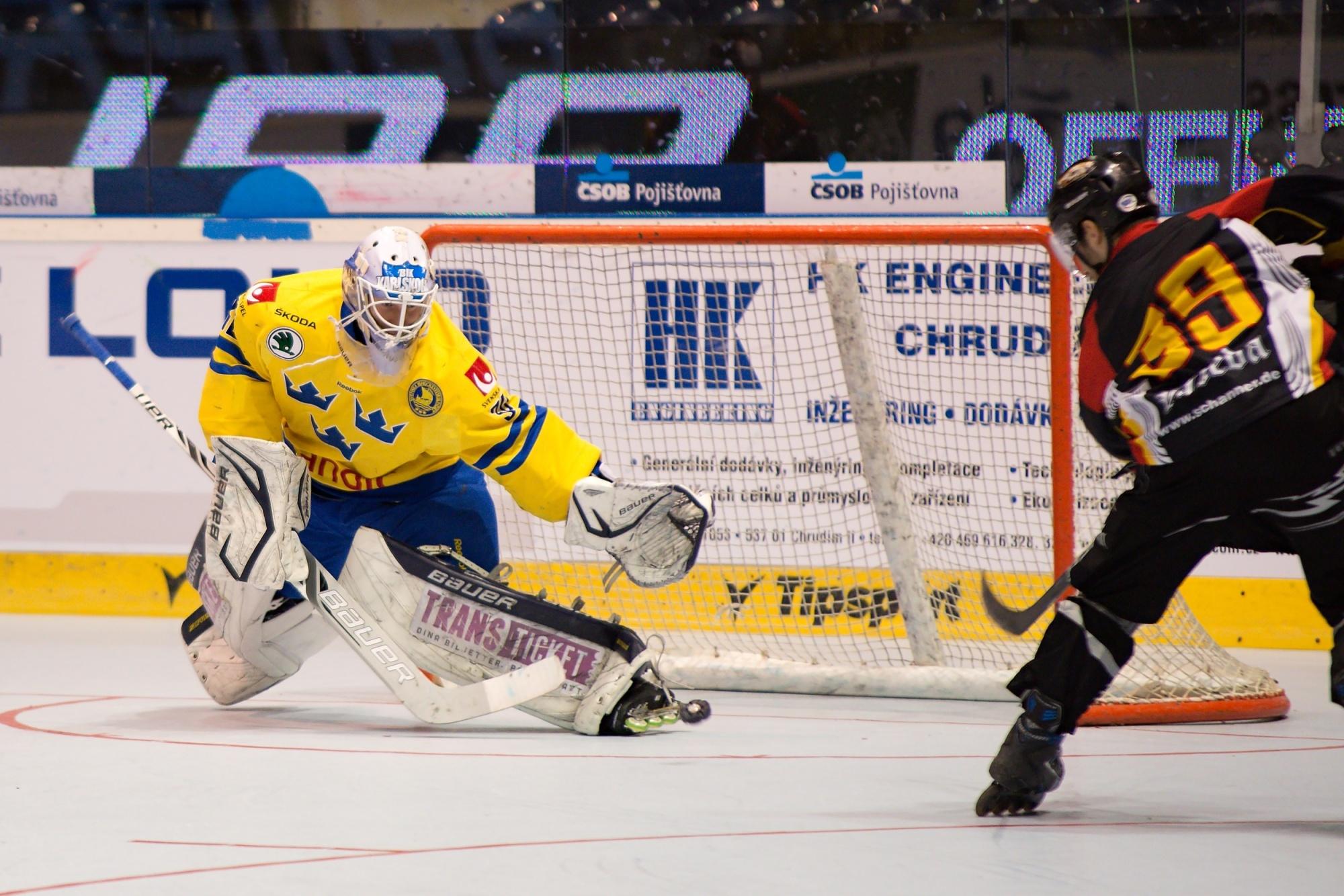 Huba Sekesi, Andreas Ollikainen, gól, inline hokej,